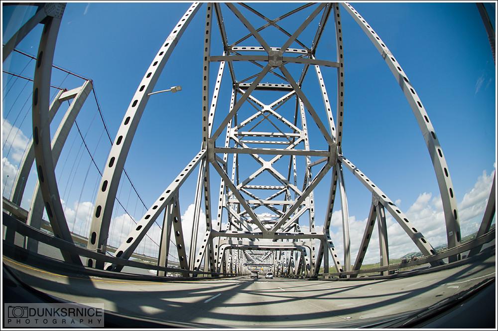 Carquinez Bridge.