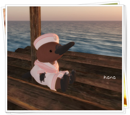 :Risusipo: Sailor_Platypus_Tiny Avater & Outfit(white)