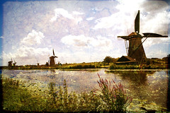 Kinderdijk 3 (texturedJohn) Tags: holland netherlands kinderdijk selectbestexcellence sbfmasterpiece