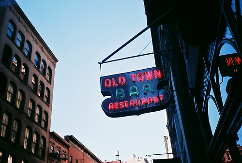 Old Town Bar, NYC