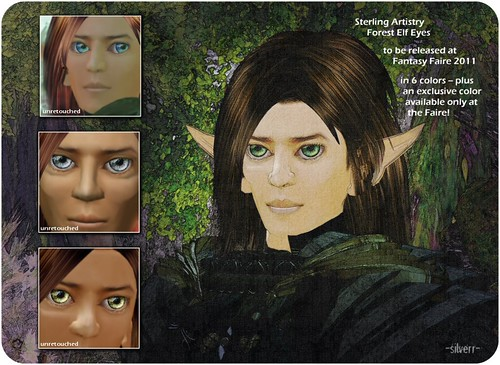 Sterling Artistry Forest Elf Eyes