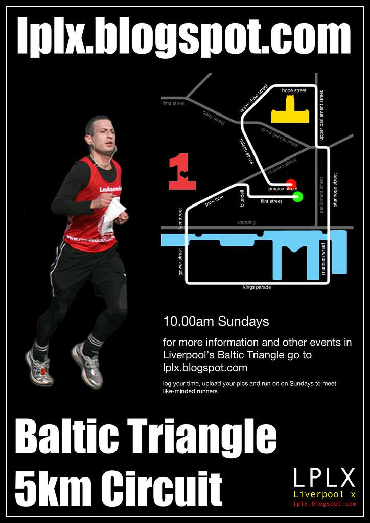 5km run poster
