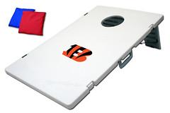 Cincinnati Bengals TailGate Toss 2.0 Plastic Cornhole Boards