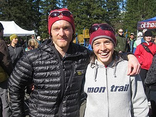 Geoff and Ellie at Chuckanut 50K