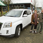 Georgina Pike of Comox wins BC Alpine 2011 GMC Terrain Raffle grand prize
