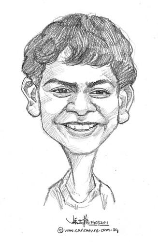 caricature in pencil - 8