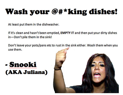 Wash your Dishes Pic