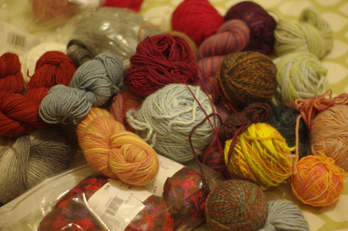 yarn donation