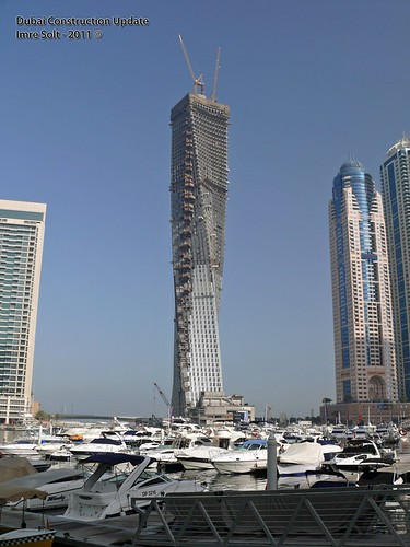 Dubai Marina construction photos, UAE,01/April/2011 by imredubai