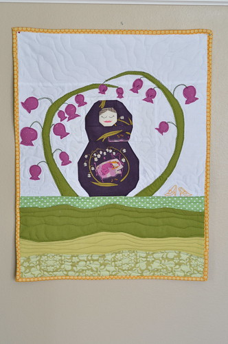 Doll Quilt Swap Finished