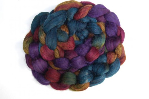 Yak Merino chocolate rainbow