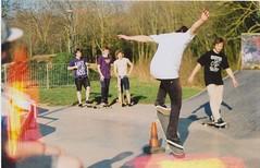 (Sam Odumosu) Tags: life light film boys youth fun kodak o2 smiles bleach guys cheeky skate british adventures leak chinon