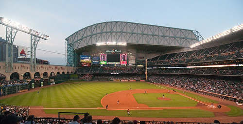 Minute Maid Park - Wide Angle by Eric Kilby, on Flickr