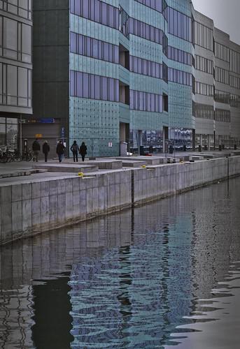 Inre hamnen, Malmö, regn