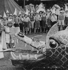 The Dragon Hunters of Ribbleton (theirhistory) Tags: uk boy pet eye boys animal george clothing teeth hats junior sword gb shield shorts wellies primary