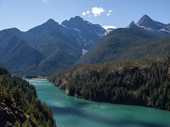 Diablo lake (Tony Buckley) Tags: diablolake diablo olympus e520 glacier cascades rockflour northcascades