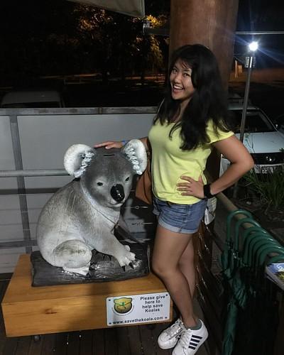 澳洲 比全部歐洲加起來還要大 這次只在東澳的 凱恩斯 下次 希望可以摸到真正的無尾熊!