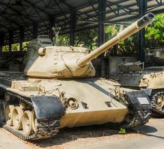 tank (maskirovka77) Tags: israeldefenseforces idf museum idfmuseum tanks m48 outdoors hdr armoredcar artillery antiaircraft armoredpersonnelcarrier bridgingequipment