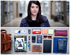 Katie Diptych (J Trav) Tags: portrait persona diptych theitemswecarry eoscanon5dmarkii showusthecontentsofyourbag whatsinyourbagdiptychs