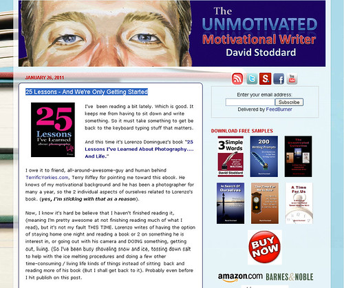 The Unmotivated Motivational Speaker Reviews 25 Lessons