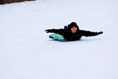 _MG_5827 Soaring (www.cemillerphotography.com) Tags: winter girls snow cold ice boys kids youth fun play sleds