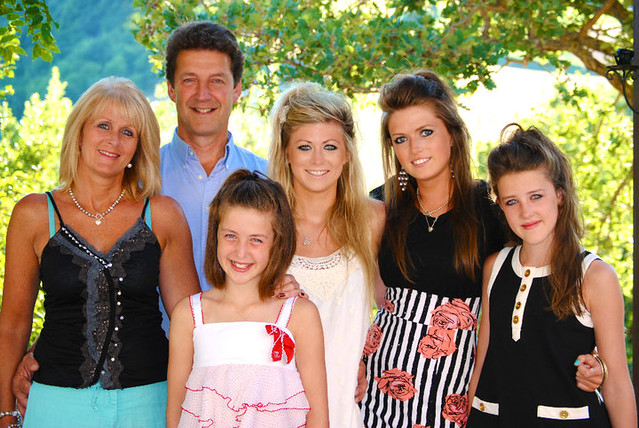 The family in Italy August 2010