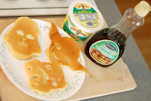 Saturday morning pancakes.