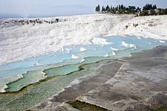 Cascading Water_6383 (hkoons) Tags: white water pool turkey pond asia calcium resort pools minerals flowing ponds cascade spa unescoworldheritage pamukkale anatolia denizli mineralwater asiaminor