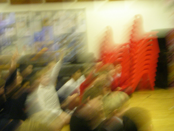 A Blurry Audience