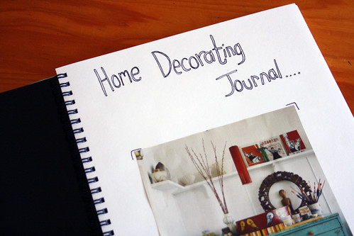 #20 Start a home decorating inspiration journal