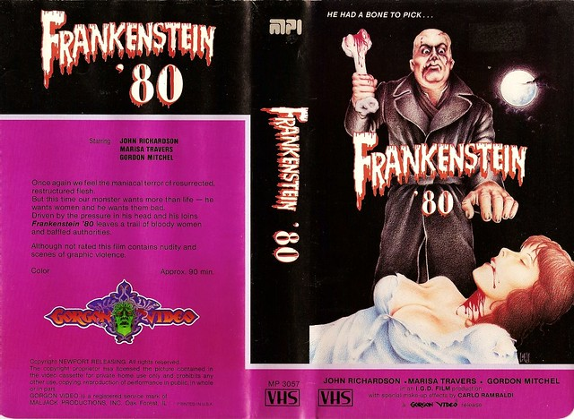 Frankenstein 80 (VHS Box Art)