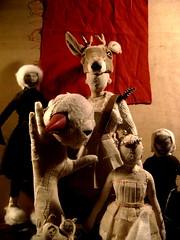 Farewell whit friends workshop (Valeria Dalmon) Tags: art beautiful de teatro dolls arte theatre objetos escultura warrior custom commission hermosa venta muñecas finearts guerrera vestuarios sculpturs valeriadalmon hermguerrera
