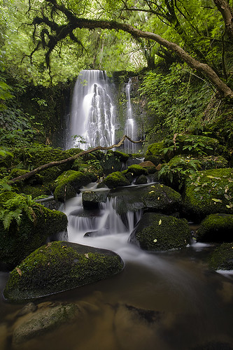 Matai Falls in the Catlins