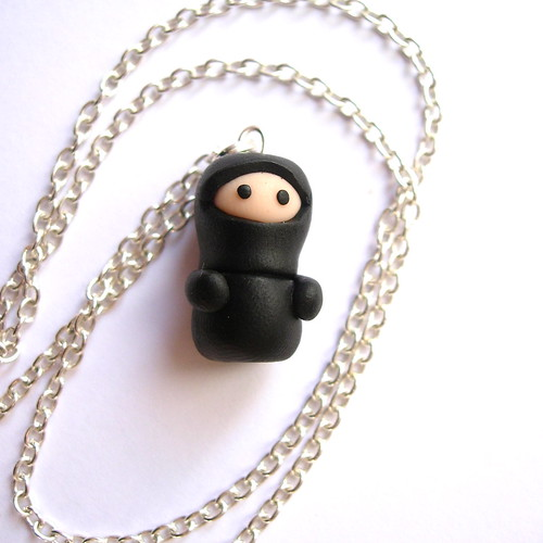 ninja necklace
