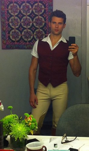 Kyle Dean Massey is one Fine Fiyero