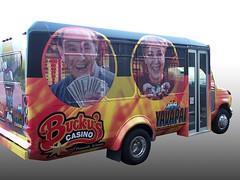 Buckys Casino Bus Wrap