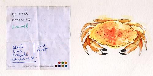 100 crab