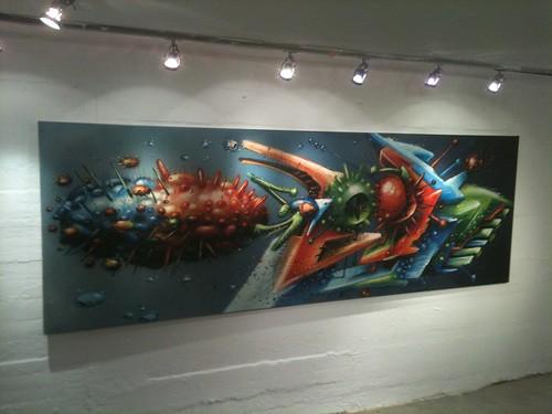 Full SEAK  Style on Canvas(leinwand) 2010 Booyah & Hoorah!