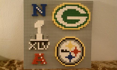 Super Bowl XLV Mosaic