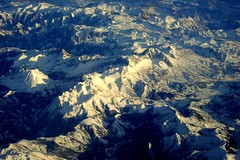 Flying over the Pyrenees