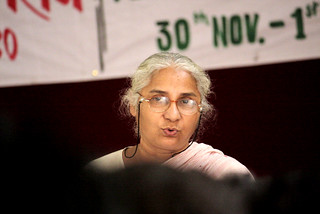 Medha Patkar:  Nagpur December 1, 2010