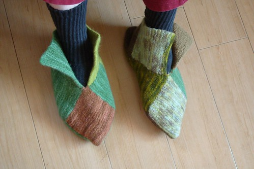 felted feet