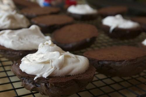 Whoopie pies - icing