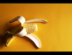 Sweet Corn (Fairy_Nuff) Tags: yellow fruit canon eos corn skin sweet banana 7d cob unexpected sweetcorn incongruous msh0611 macromondays msh061114