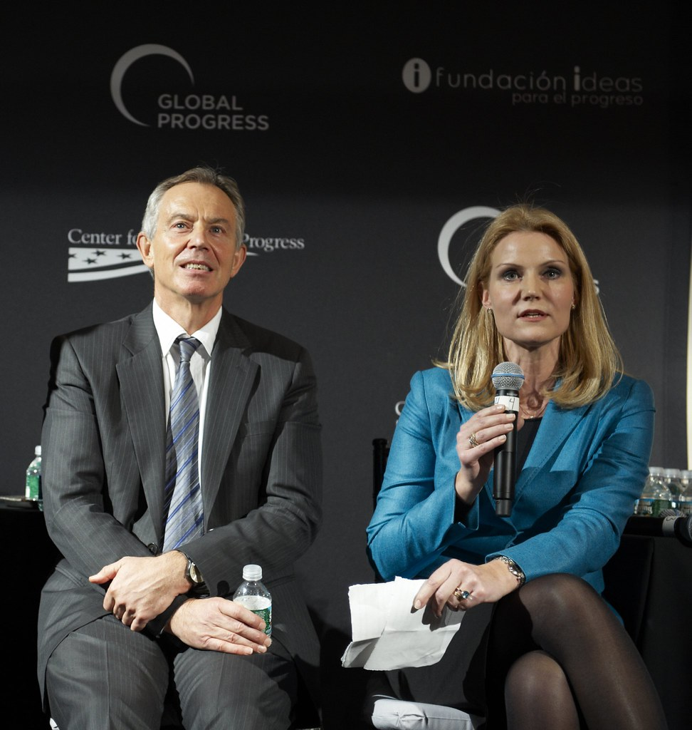Tony Blair, Helle Thorning-Schmidt