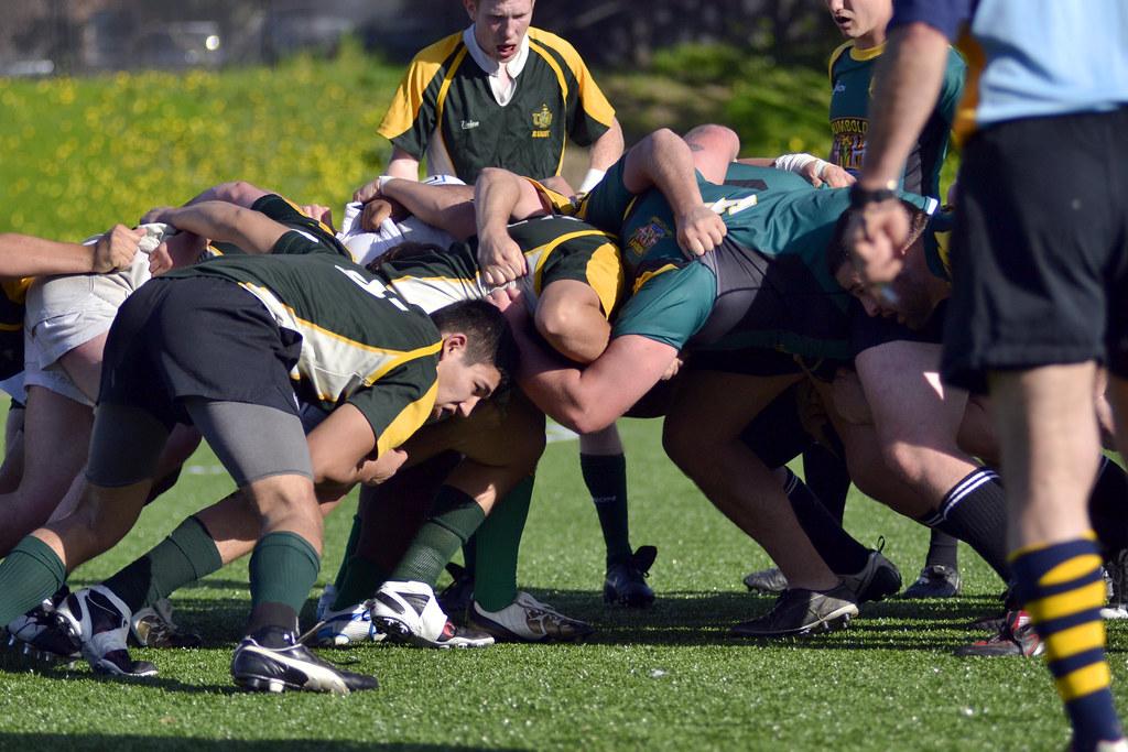 Men's Rugby by Emily Bogden