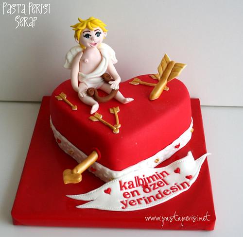 aşk meleği pastası1