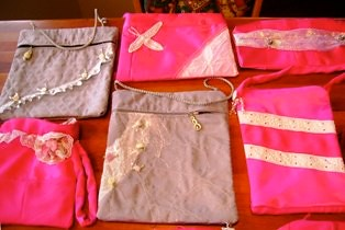 Flo's Evening Purses for Glass Slipper Project