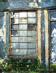A Glasgow city centre window (Tony Worrall) Tags: city urban broken window glass scotland closed decay glasgow north scottish east forgotten rotten peel pane flaky abandonned shut olden glaswegian frontage tonyworrall
