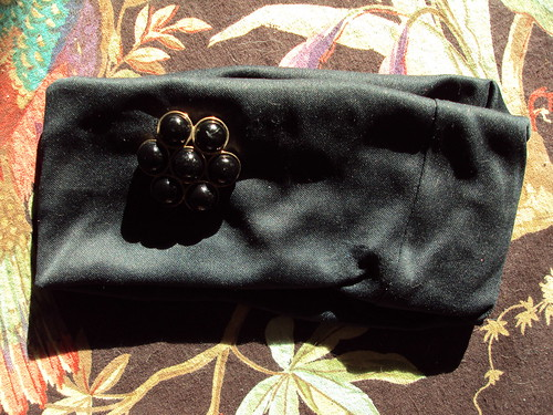 Black Bead Headband